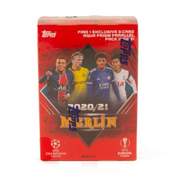 2020-21 Topps Merlin Chrome Soccer Blaster Box