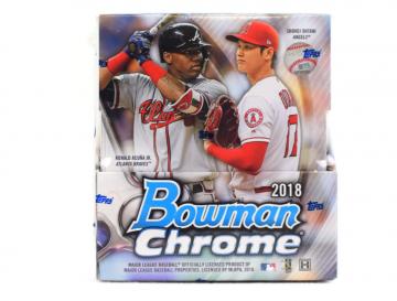 2018 Bowman Chrome Baseball Hobby Box