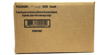 2021 Topps Chrome Baseball Hobby 12 Box Case