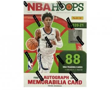 2020-21 Panini NBA Hoops Basketball Holiday Blaster Box