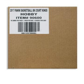 2017-18 Panini Court Kings Basketball Hobby 16 Box Case