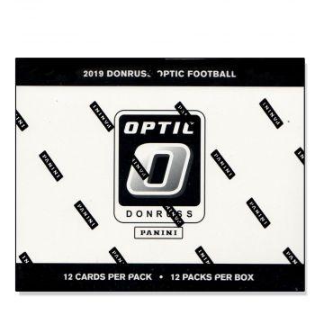 2019 Panini Donruss Optic Football Fat Pack Cello Box