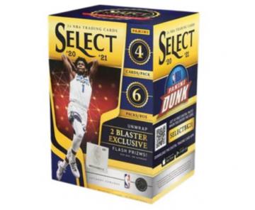 2020-21 Panini Select Basketball Blaster Box (Flash Prizm)