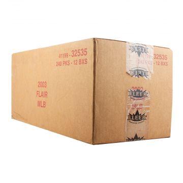 2003 Fleer Flair Baseball Hobby 12 Box Case