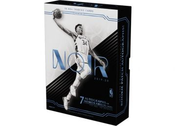 2019-20 Panini Noir Basketball Hobby Box