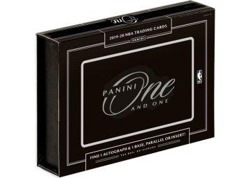 2019-20 Panini One and One Basketball Hobby Box