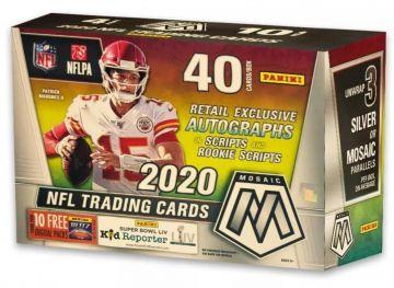 2020 Panini Mosaic Football Mega Box (Target)