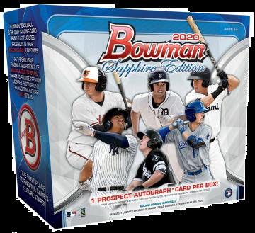 2020 Bowman Baseball Sapphire Edition 10 Box Case