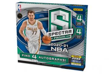 2020-21 Panini Spectra Basketball Hobby Box