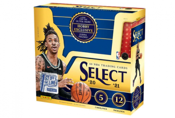 2020-21 Panini Select First off the Line FOTL Basketball Hobby Box