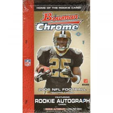 2006 Bowman Chrome Football Hobby Box