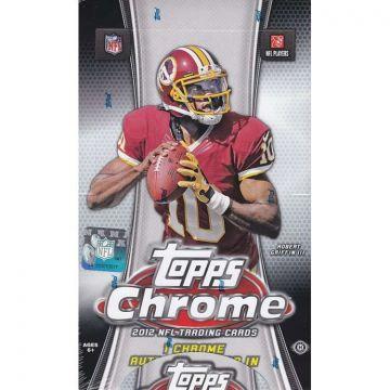 2012 Topps Chrome Football Hobby Box