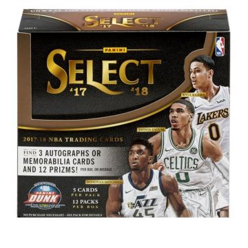 2017-18 Panini Select Basketball Hobby Box