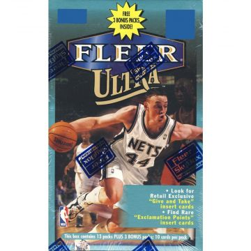 1998-99 Fleer Ultra Basketball Retail 16ct Box