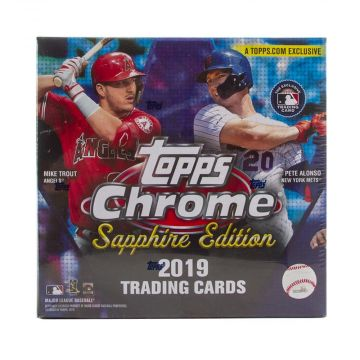 2019 Topps Chrome Sapphire Baseball Box