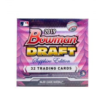 2019 Bowman Draft Sapphire Edition Baseball Box