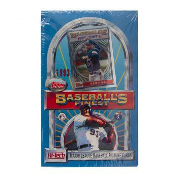 1993 Topps Finest Baseball Hobby Box