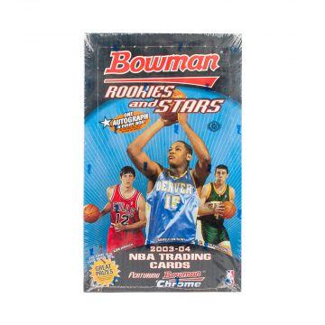 2003-04 Bowman Rookies & Stars Basketball Hobby Box