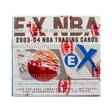 2003-04 Fleer EX Basketball Hobby Box