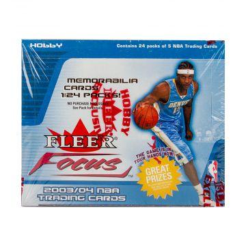 2003-04 Fleer Focus Basketball Hobby Box