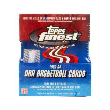 2003-04 Topps Finest Basketball Hobby Box
