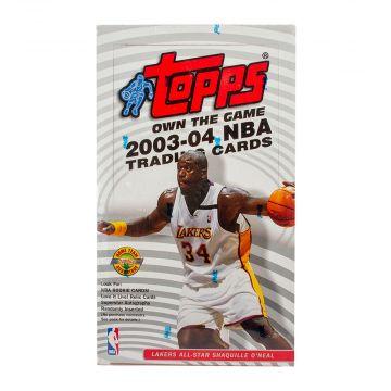 2003-04 Topps Basketball Jumbo Box