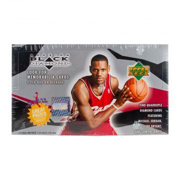 2003-04 Upper Deck Black Diamond Basketball Hobby Box