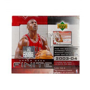 2003-04 Upper Deck Finite Basketball Hobby Box