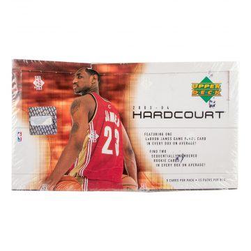 2003-04 Upper Deck Hardcourt Basketball Hobby Box