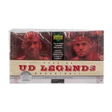 2003-04 Upper Deck Legends Basketball Hobby Box