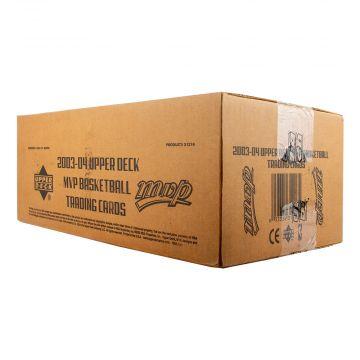 2003-04 Upper Deck MVP Basketball Hobby 12 Box Case