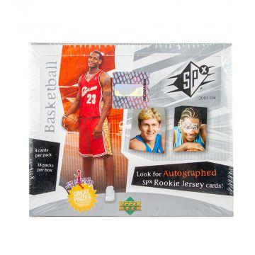 2003-04 Upper Deck SPX Basketball Hobby Box