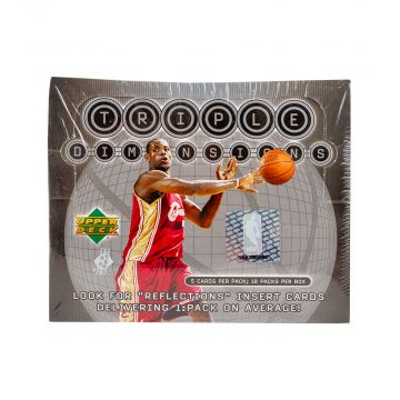 2003-04 Upper Deck Triple Dimension Basketball Hobby Box