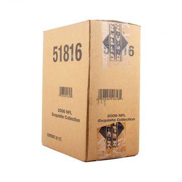 2006 Upper Deck Exquisite Football Hobby 3 Box Case