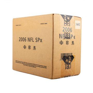 2006 Upper Deck SPX Football Hobby 14 Box Case