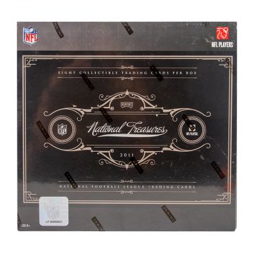 2011 Panini Playoff National Treasures Football Hobby Box