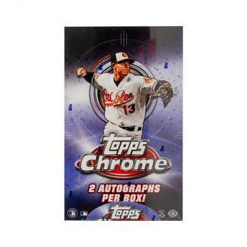 2013 Topps Chrome Hobby Baseball Box