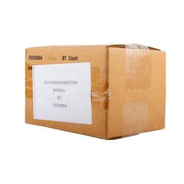 2014 Bowman Inception Baseball Hobby 8 Box Case