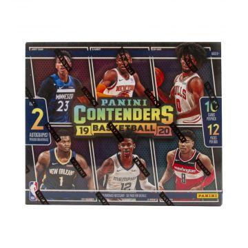 2019-20 Panini Contenders Basketball Hobby Box
