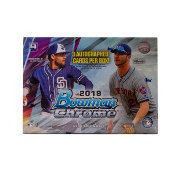 2019 Bowman Chrome HTA Choice Baseball Box