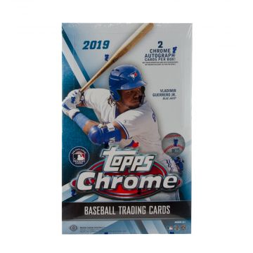 2019 Topps Chrome Hobby Baseball Box
