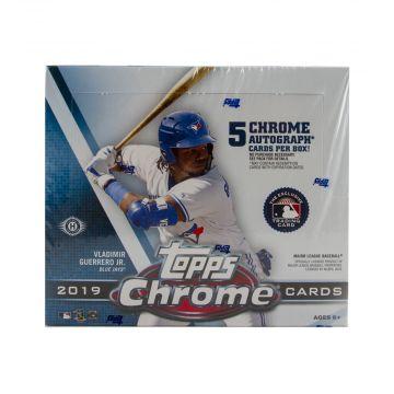 2019 Topps Chrome HTA Jumbo Baseball Box