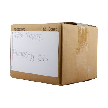 2019 Topps Dynasty Baseball 5 Box Case