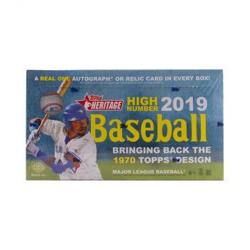 2019 Topps Heritage High Number Hobby Baseball Box