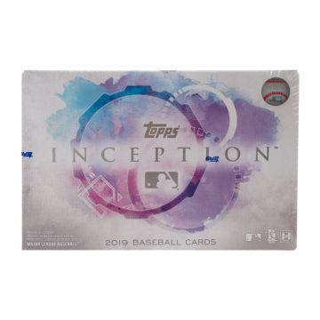 2019 Topps Inception Hobby Baseball Box