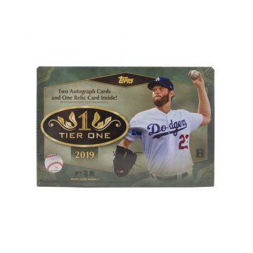 2019 Topps Tier One Hobby Baseball Box