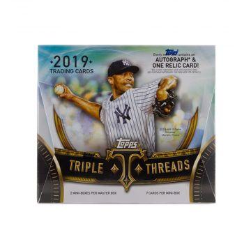2019 Topps Triple Threads Hobby Baseball Box