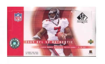 2004 Upper Deck SP Authentic Football Hobby Box