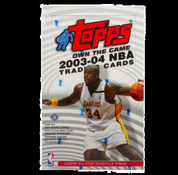 2003-04 Topps Basketball Hobby Box
