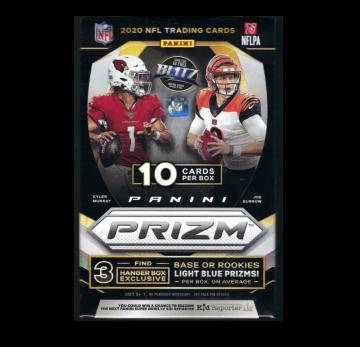 2020 Panini Prizm Football Hanger 10ct Box (Target)